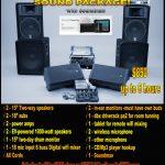 Sound and light Rental