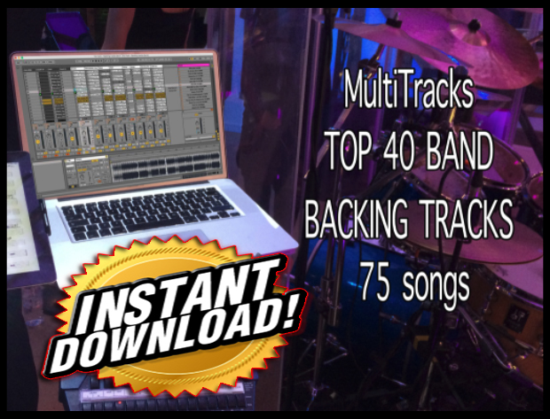 Cover BAND BACKING TRACKS 75 songs
